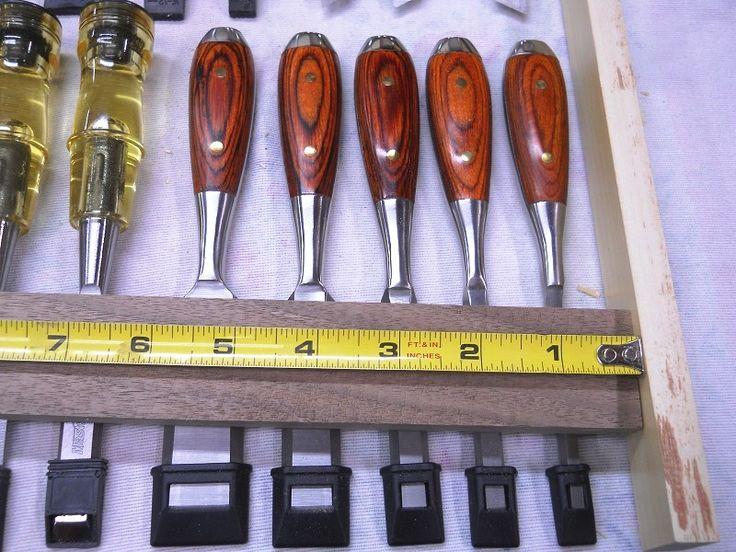 Wood Chisel Holders / Supports pour ciseaux à bois