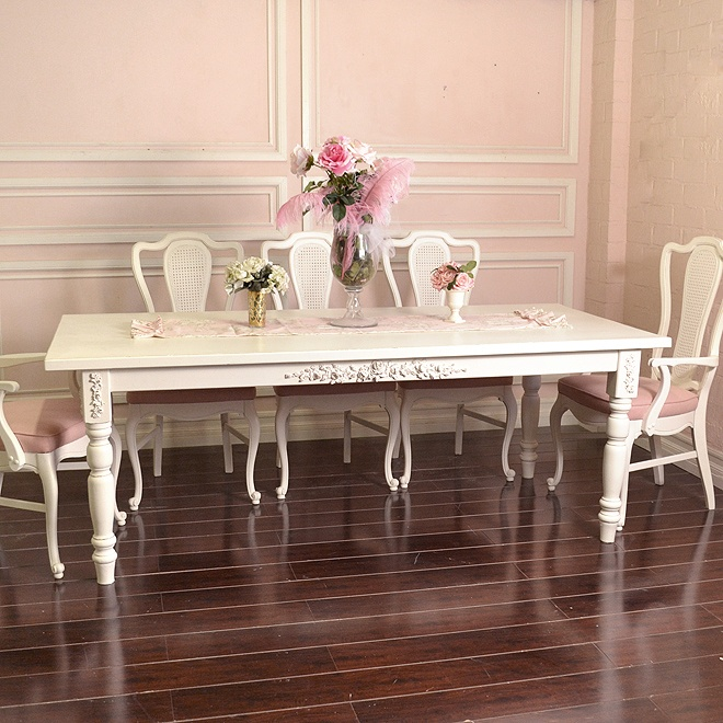 Dining Table Dining Table French White