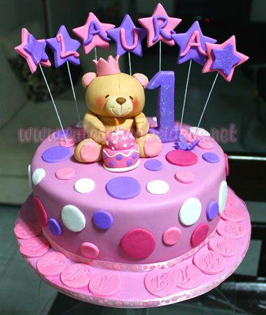 Forever friends bear cake