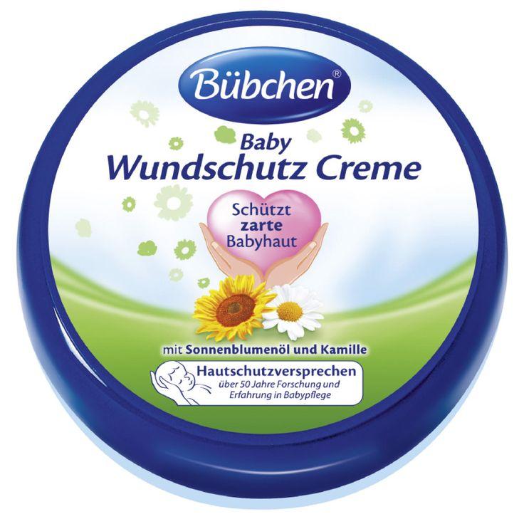 BÜBCHEN Basispflege Wundschutz Creme 2 x 150ml