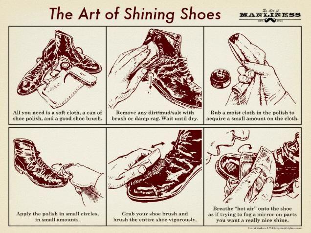 The Art Of Shining Shoes!
