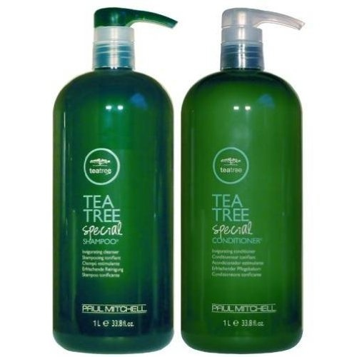 Awesome for the scalp as well as hair. Tea Tree oil helps with dandruff, hair loss due to plugged hair follicles .... helps with acne on the forehead too..   Paul Mitchell Tea Tree Special Shampoo & Special Conditioner Duo 33.8 oz (1 Liter) #specialisedshampoo #teatreeoilproducts #shampoo