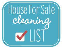 Getting a house ready to sell is such a hard job - it's so emotionally and physically draining.  Once your house is for sale, you have the uncertainty of when the next showing will be.  How about a quick clean checklist to keep track of what you need to do quickly before a showing or just to keep the house in tip-top shape while it's for sale.