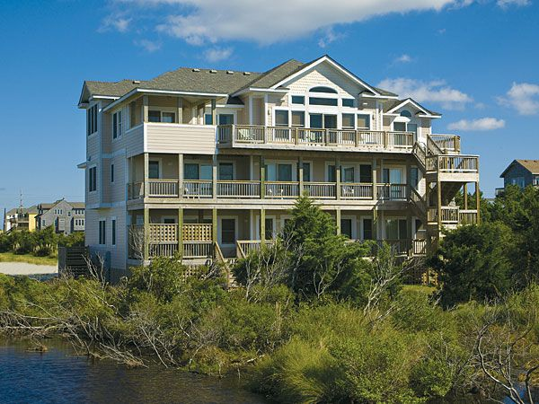 35 best premier vacation homes on hatteras island images for Hatteras homes