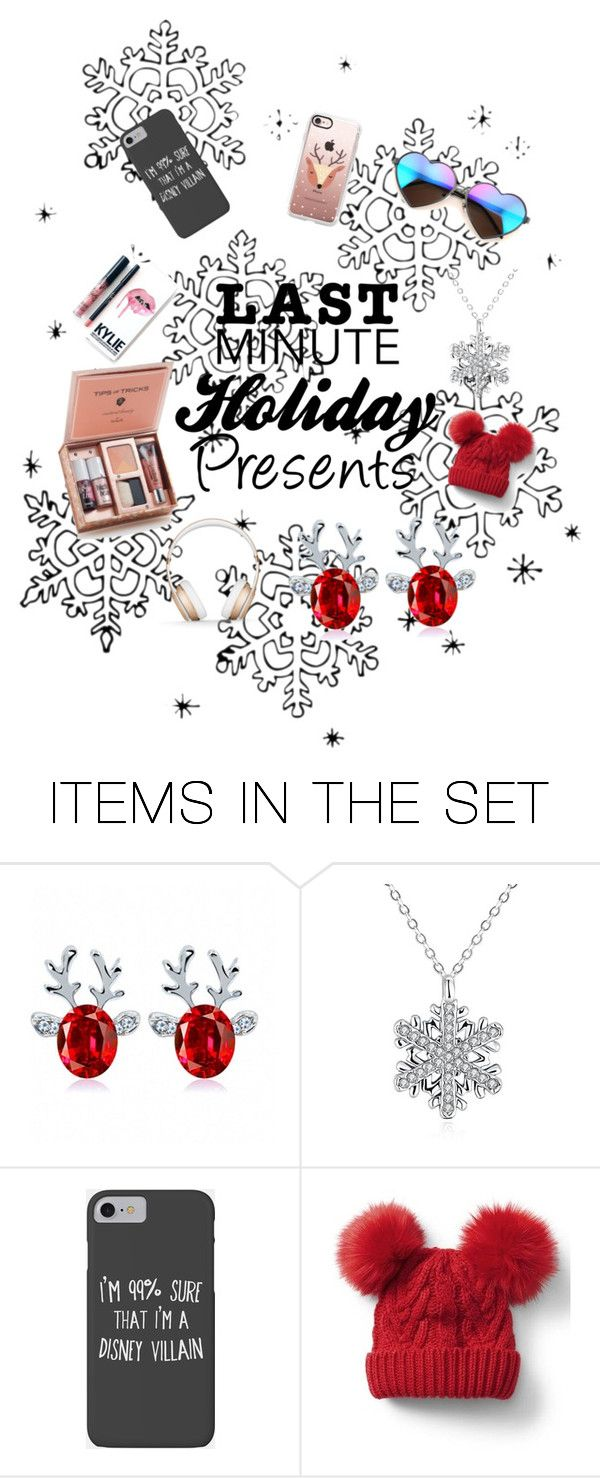 """""""Last Minute Holiday Presents"""" by ameliacaller ❤ liked on Polyvore featuring art, Christmas, holidays, presents and LastMinute"""