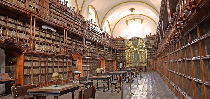 biblioteca palafoxiana nueva sala