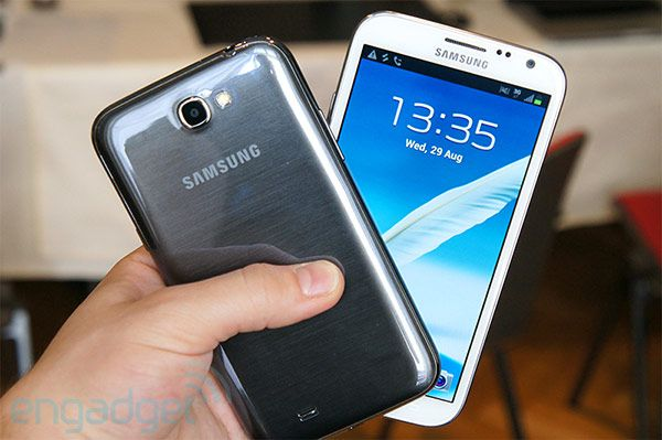 Samsung's Galaxy Note II gets its UK release date: October 1st