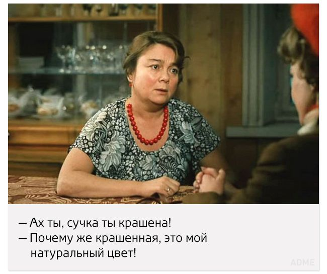 Старые добрые цитаты изфильма «Любовь иголуби»