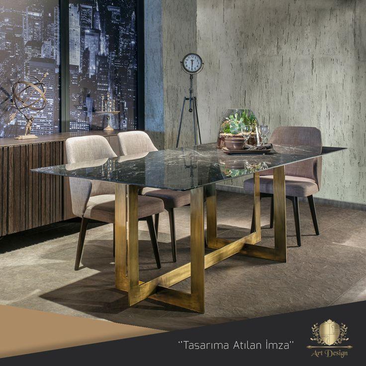 Plaza Yemek Odası, Mdf Üzeri Doğal Meşe Kaplama, Mermer Masa, Ayaklar Bronz Eskitme Metal. www.artdesign.com.tr  #mobilya #modoko #plaza #yemekodası #meşe #ahşap #modern #mermer #modernmobilya #country #project #furnituredesign #modernart #design #decor #dining #diningroom #marble #lacquer #metal #wearmetal #interior #home #interiordesign #luxuryfurniture #artdesign #decoration #dekorasyon
