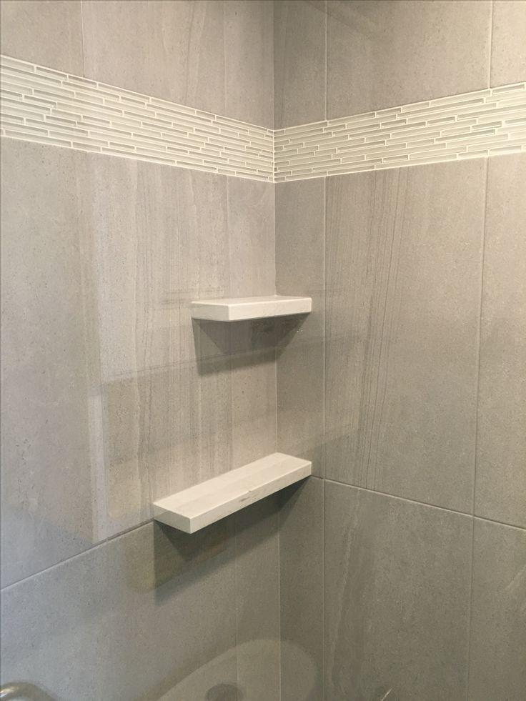Quartz Shower Shelves Haus With Images Bathroom Redesign