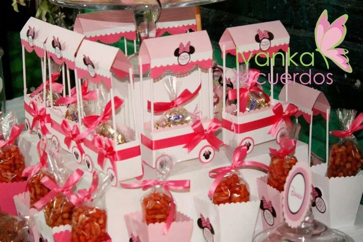 Dulceros | minnie mouse | Pinterest | Candy Table and Candy