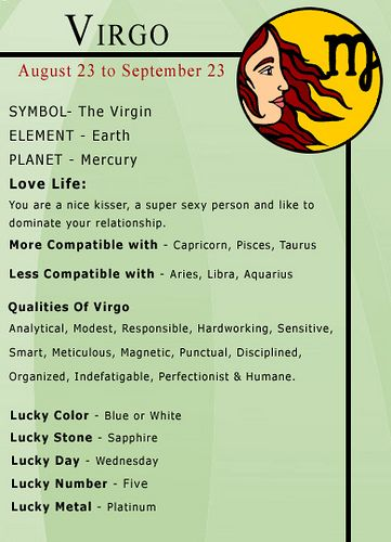 """Humorous, Inquisitive, Rational, Logical, I could go on and on....ergo, I'm the PERFECT"""" Virgo....seriously :~)"""