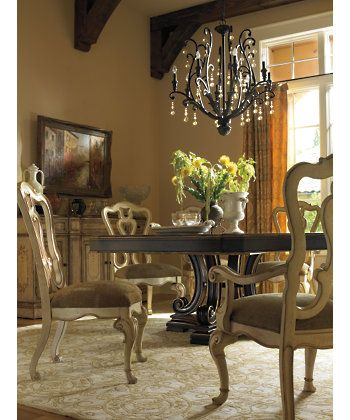 another hexagon table stanley furniture dining tables grand continental esagonale dining table. Interior Design Ideas. Home Design Ideas