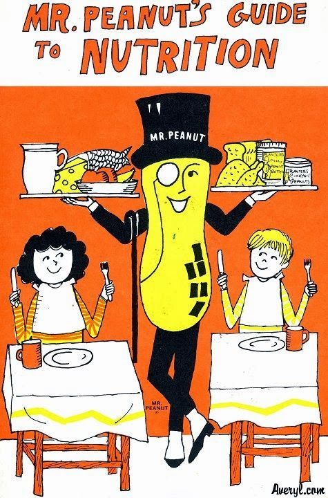 Vintage Gluten-Free Recipes! Snark-Free Cookery: Vintage Fare for Modern Dishes. : Mr. Peanut/Beth's Peanutty Slaw, 1970