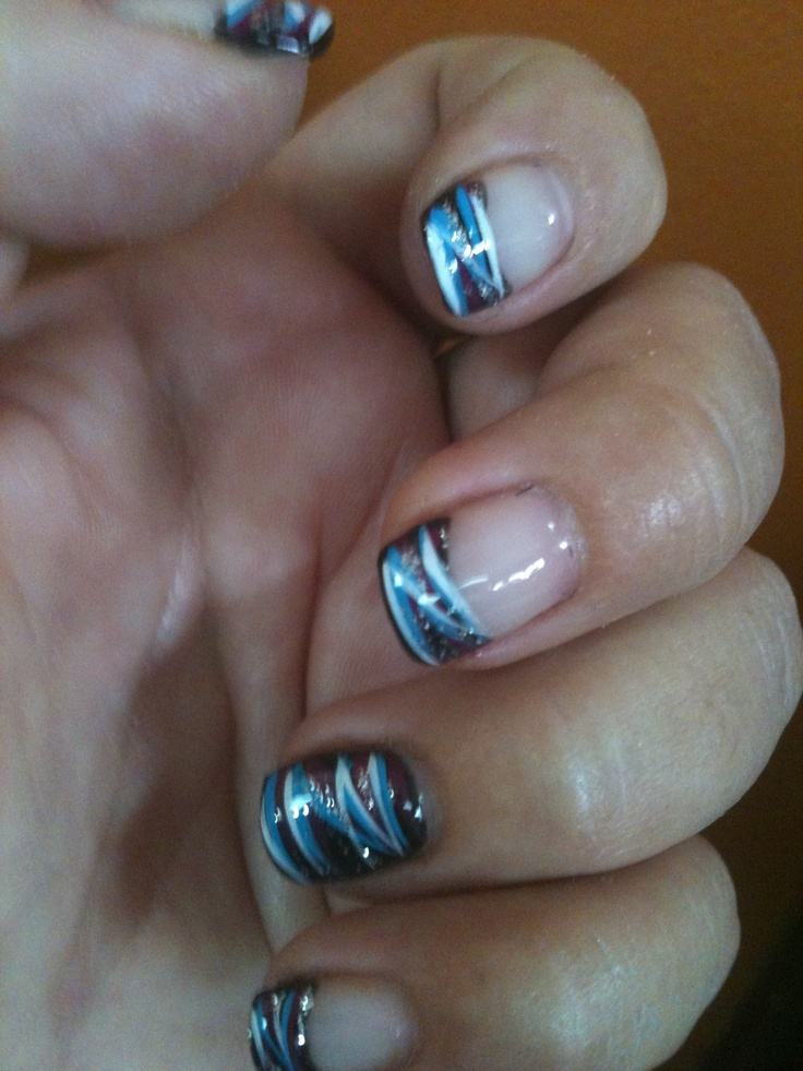 Shellac Nail .......love The Design