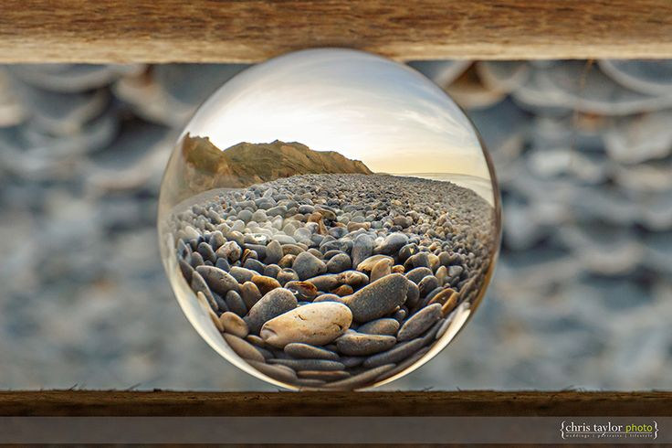 Norfolk Photographer Chris Taylor with a collection of crystal ball photographic images shot around the North Norfolk coast.