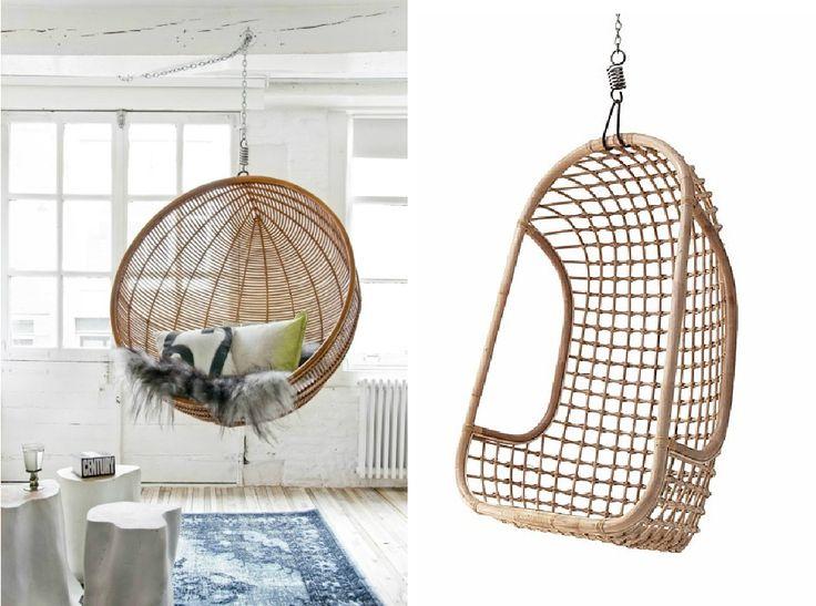 #indretning #ide #møbler #hængestol #udendørsmøbler #uderum #altomindretning