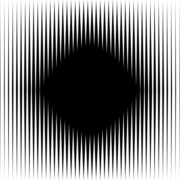 Look at the black diamond in the middle, is it moving? Optical illusion