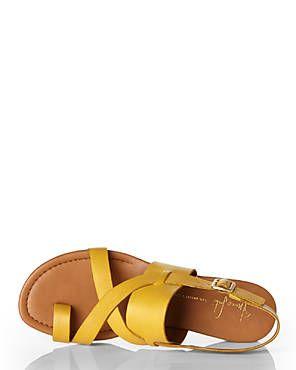 FRANCO SARTO Gia Yellow Sandals