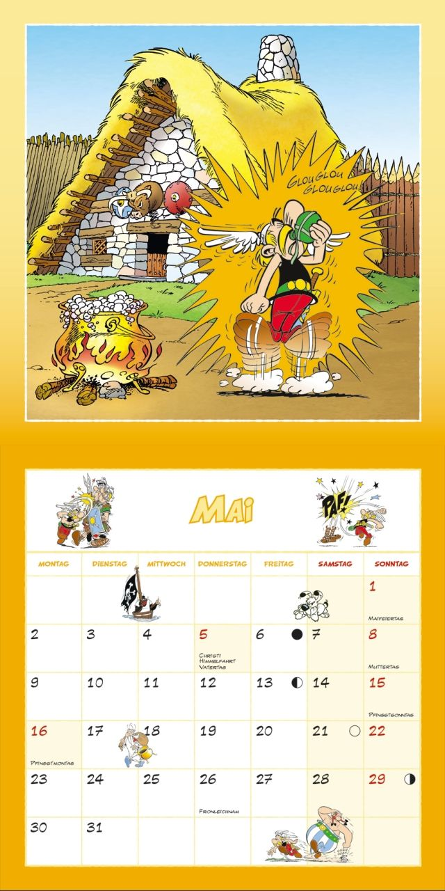 Asterix 2016 - Kalender 2016 - Dumont Kalenderverlag