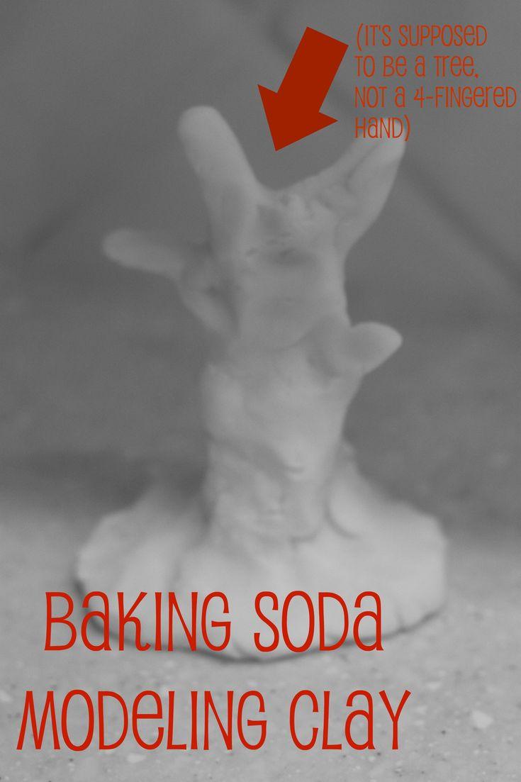 baking soda modeling clay // i can teach my child.