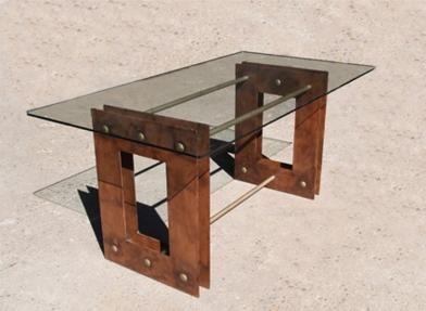 M s de 25 ideas incre bles sobre mesas de hierro forjado for Zapateras de metal