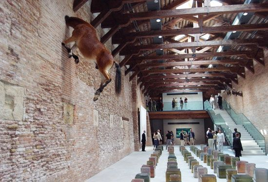 Also one of the most amazing museums I have seen. Punta Della Dogana. Tado Ando.