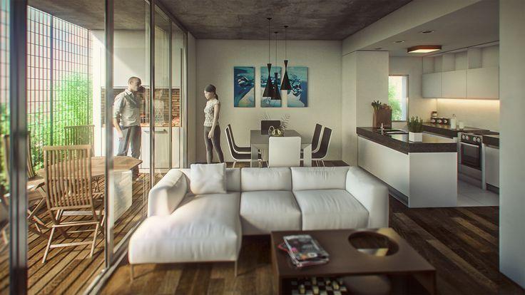 ArtStation - FIRMAT BUILDING Interior, Bruno Bolognesi