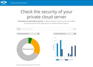 Nextcloud releases security scanner to help protect private clouds – Nextcloud