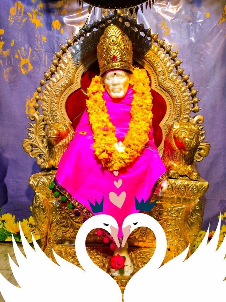 Saibaba Temple Santhapeta Ongole in 2020 Om sai ram