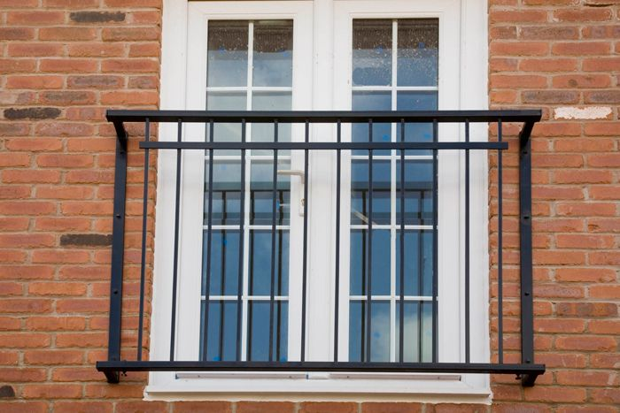 No balcony platform just rails balcony pinterest for Balcony platform