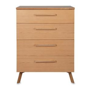 Adept Tall Boy (4 Drawers) #worthynzhomeware wwworthy.co.nz