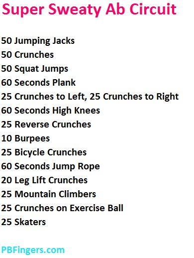 ab circuit from @pbfingers #fitfluential