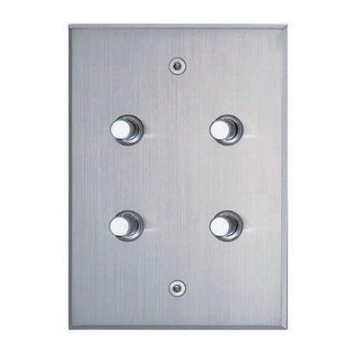 Bouton poussoir rectangle interrupteur