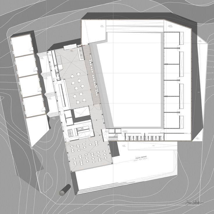 New Social Center in Sant Feliu de Guíxols (Catalunya). Projects 4th Course// La Salle University.