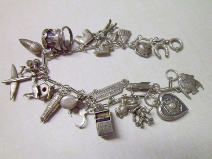 I have my Mother-in-law's silver charm bracelet from back in the day! Such a sweet reminder of her! RIP Linda! <3