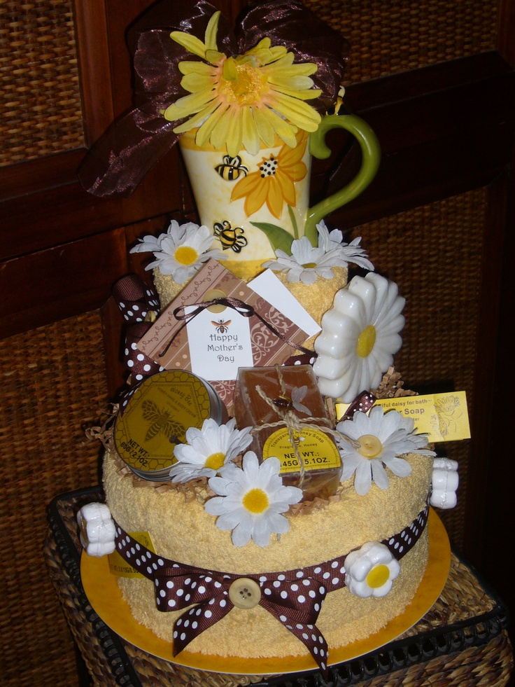 Towel Spa cake Made by Cute as a Button giftcakes, decor and more by Ronda