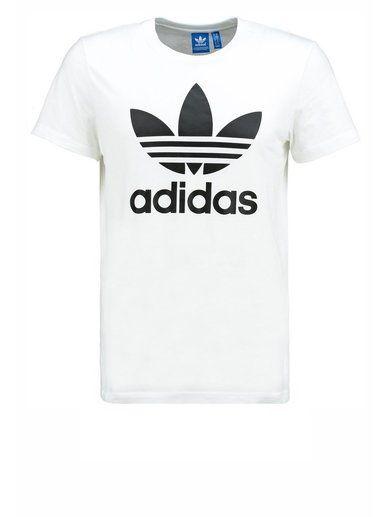 adidas Originals Tshirt z nadrukiem white