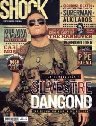 Revista Shock Magazine  www.shock.com.co  (Silvestre Dangond)