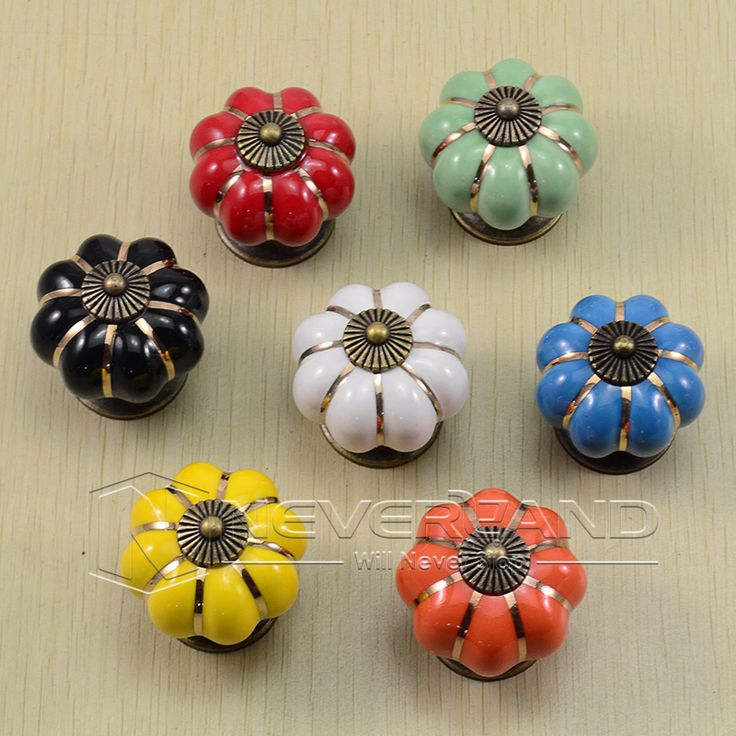 This is nice, check it out!   Classical White Pumpkins Knobs Europe Ceramic Door Cabinet Cupboard Handles Pull Drawer 40mm New - US $1.57 http://webhomeappliance.com/products/classical-white-pumpkins-knobs-europe-ceramic-door-cabinet-cupboard-handles-pull-drawer-40mm-new/
