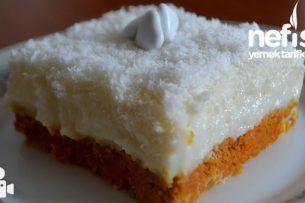 Muhallebili Havuçlu Pasta (Garanti Lezzet) Tarifi nasıl yapılır? bu tarifin resimli anlatımı ve deneyenlerin fotoğrafları burada. Yazar: gülüm