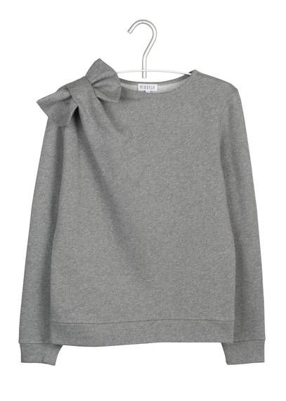 Sweat noeud  Gris by CLAUDIE PIERLOT                                                                                                                                                                                 Plus