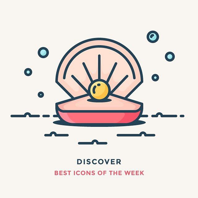 I've just published best icons of the week on IconUtopia. Check it out! Link in…