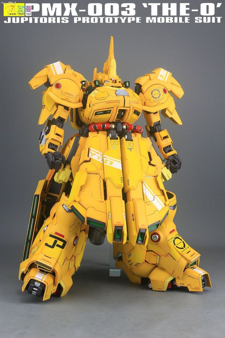 G-System 1/72 The-O - Painted Build Modeled by Jon-K