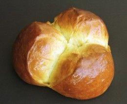 Croatian Hrvatski Easter Bread Recipe - Sirnica (seer-nit-za) with lemon and egg