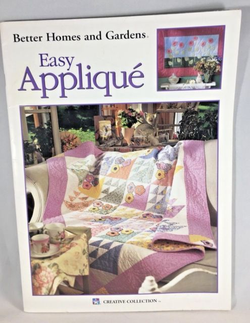 195 best quilting images on pinterest easy quilts patchwork better homes and gardens easy appliqu quilts soft cover pattern book ebay fandeluxe Choice Image