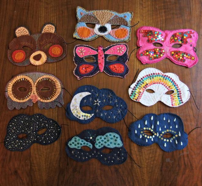 Po silnom inšpiračnom impulze na Pintereste som minulý rok na Vianoce deťom vytvorila vyšívané masky z filcu. Úspech bol značný, prekvapenie veľké, a masky držia viac než rok v celkom do...