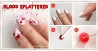 {How To} Scary & Bloody Halloween Nail DIY | Pretty Gossip