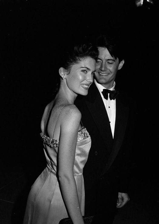 Lara Flynn Boyle & Kyle MacLachlan (Twin Peaks, 1990)