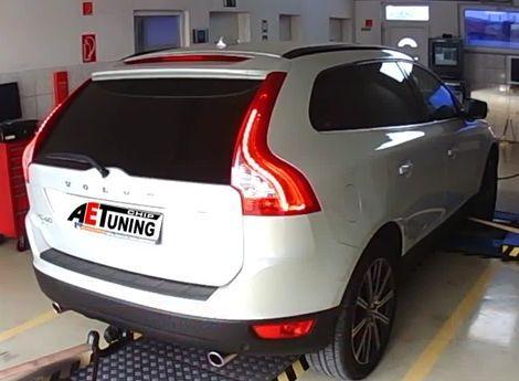 Volvo XC60 2.4D 215LE AWD Chiptuning teljesítményméréssel